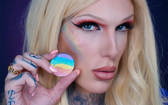 The latest makeup product you need is this rainbow highlighter