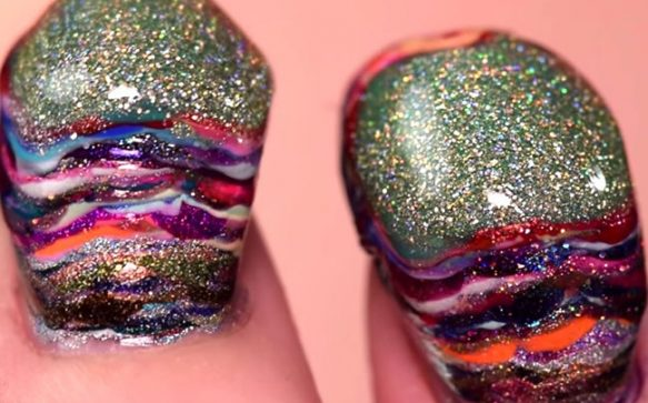 Nail Polish Mountains are the new beauty trend
