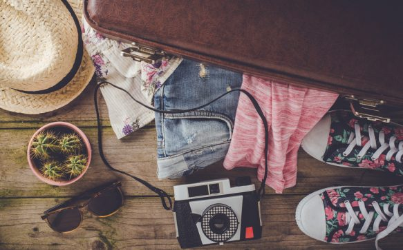 Essential items to pack for travelling