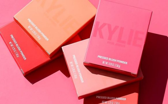 Kylie Jenner criticised for the names of her blush range