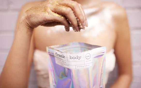 Frank Body is bringing back body glitter