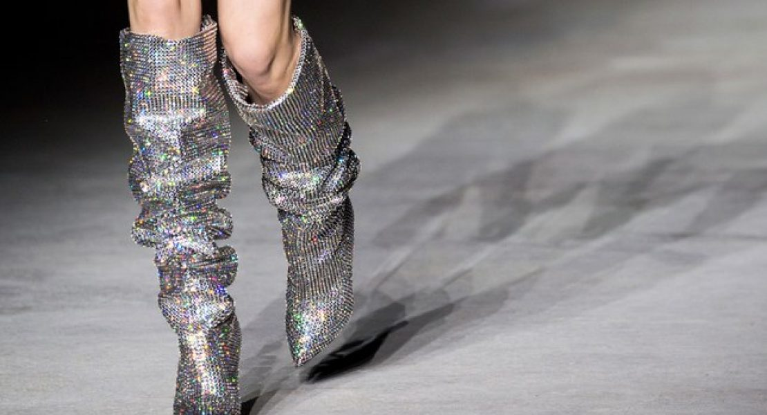 These Saint Laurent Boots are worth $13,000