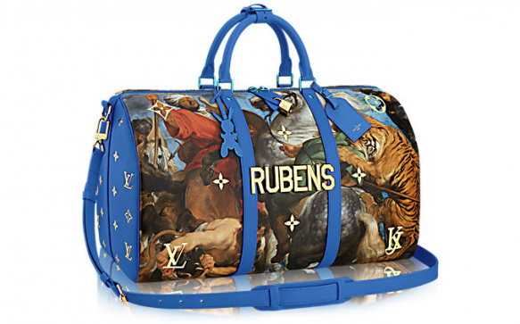 Louis Vuitton has collaborated with Jeff Koons