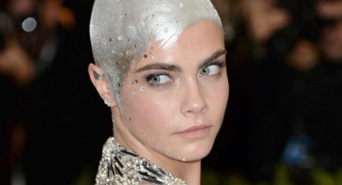 Cara Delevingne has shaved her beautiful head