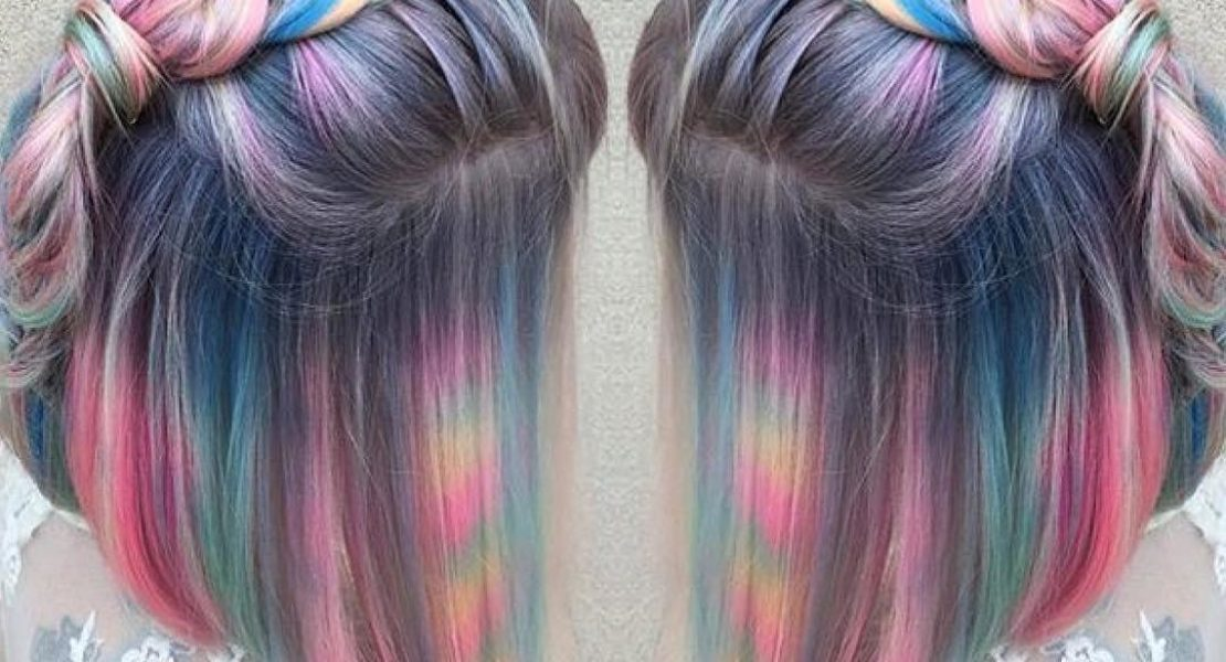 The marble hair trend that has been taking over Instagram