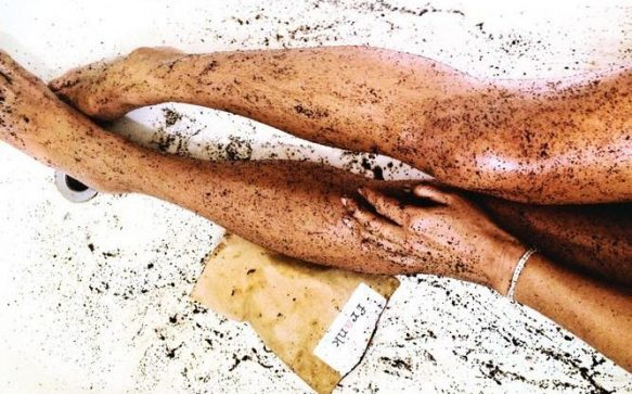A Match Made In Fake Tan And Exfoliation Heaven