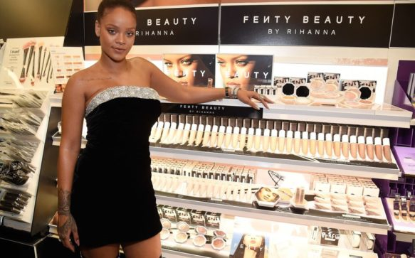 Rihanna Unveils Latest Fenty Beauty Palette