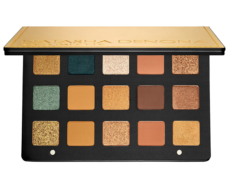 Natasha Denona Is Releasing A Gold Palette Beauty News