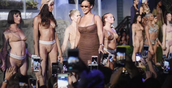 Fenty x Savage Lingerie Debuts at New York Fashion Week