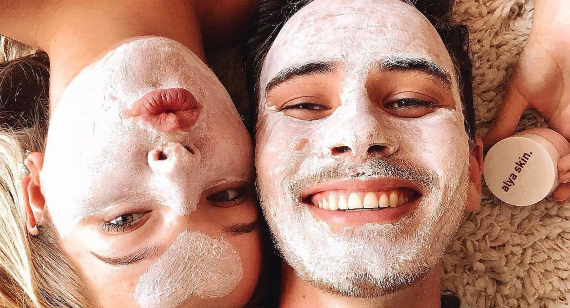 I Tried An Alya Skin Face Mask With My Boyfriend