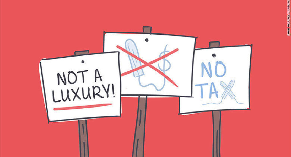 Goodbye Tampon Tax! (Finally)