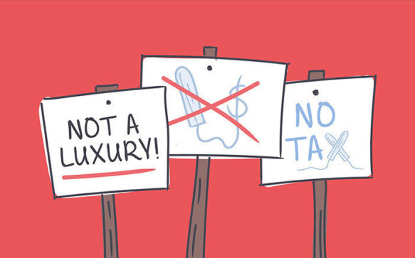 Goodbye Tampon Tax! (Finally)