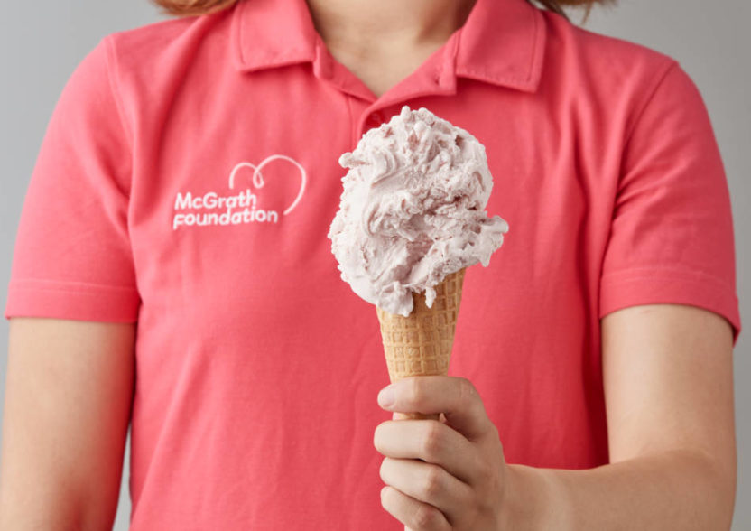 A scoop of LOVE!