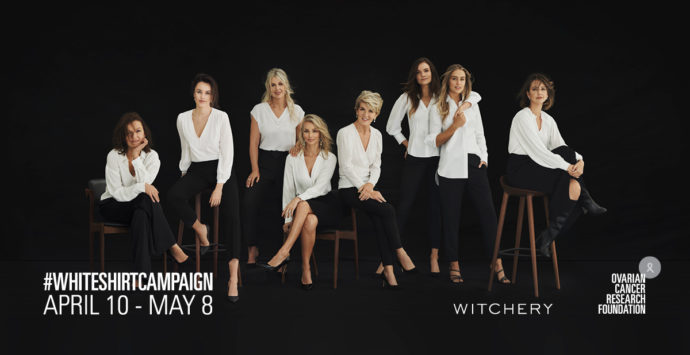 Witchery: The White Shirts Hoping to End Ovarian Cancer