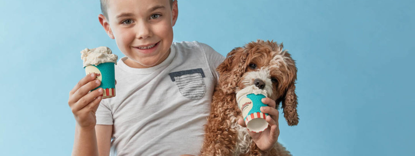 Go Barking Mad for Gelatissimo's Pawesome Peanut Butter Gelato