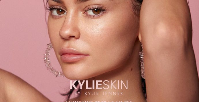 Beauty Mogul Kylie Jenner Launches Kylie Skin
