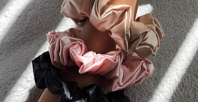 Silk Scrunchies to Revolutionise Your Hair Tie Game