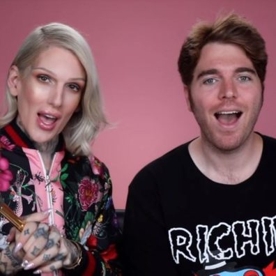 """""""My face feels basic, but the packaging is cute""""- Jeffree Star review's Kylie Skin products"""