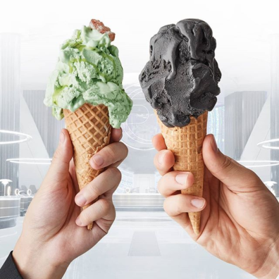 Gelatissimo's Out of this World MIB Inspired Flavours