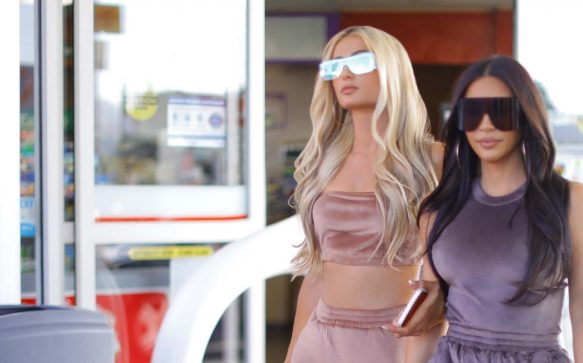 The velour tracksuit is back, thanks to Kim Kardashian West And Paris Hilton