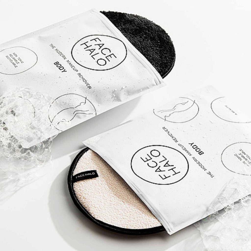 Feel radiant with Face Halo's reusable makeup products
